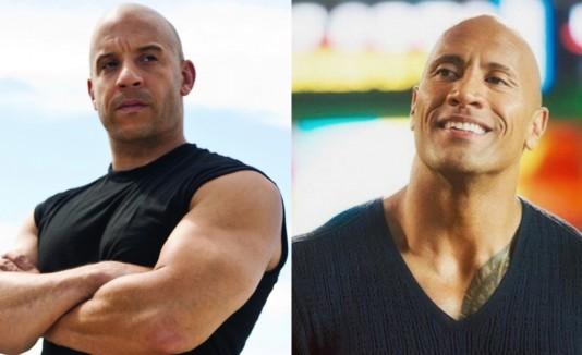 Vin Diesel The Rock