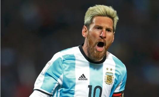 Messi se recupera de una lesión.