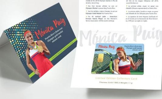 Tarjeta de Mónica
