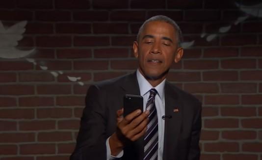 Jimmy Kimmel Live! Mean Tweets - Obama edition