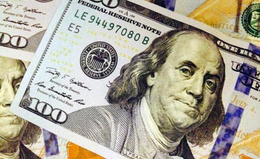Billete de $100