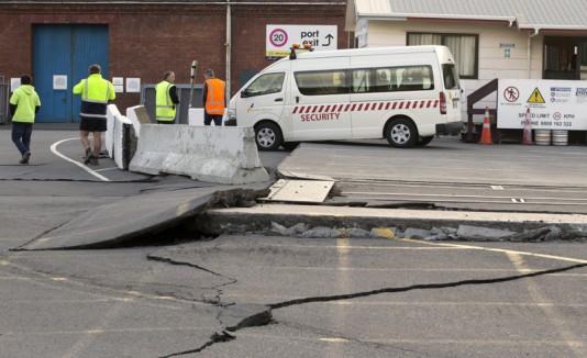 Nueva Zelanda tras terremoto
