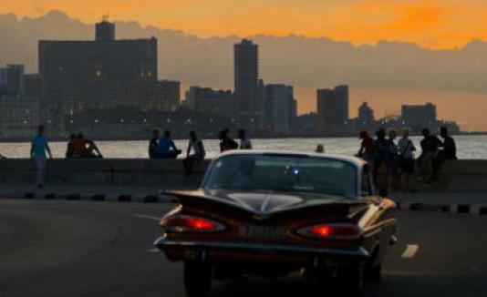 Malecón en Cuba