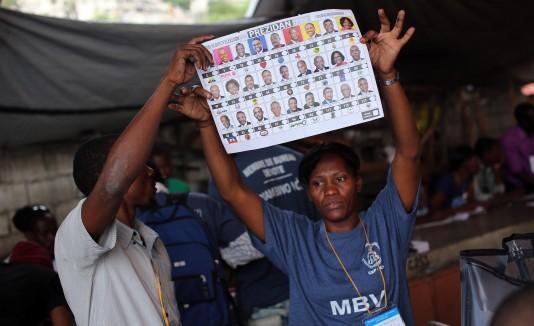Elecciones Haití