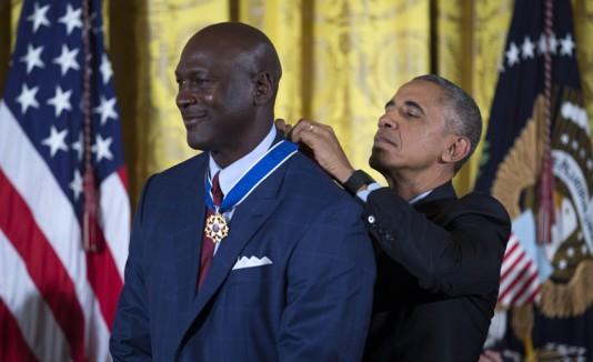Michael Jordan, homenaje de Obama