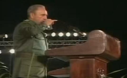 Caída de Fidel Castro
