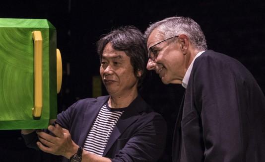 Shigeru Miyamoto y Mark Woodbury