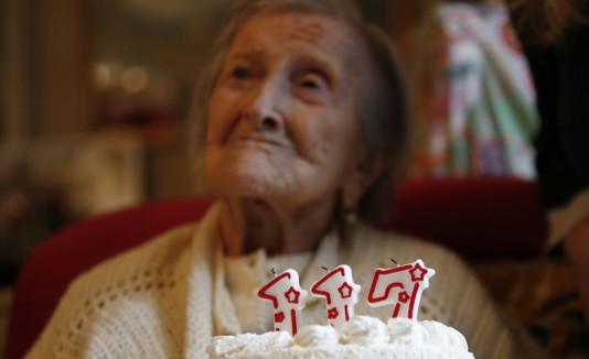 Anciana de 117 años