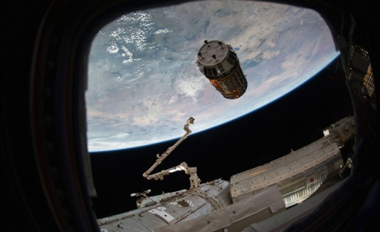 Regalos de Navidad para la Estación Espacial