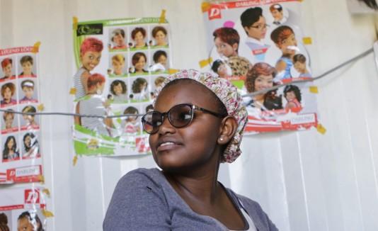 Caroline Wambui, creadora de Life Pocket