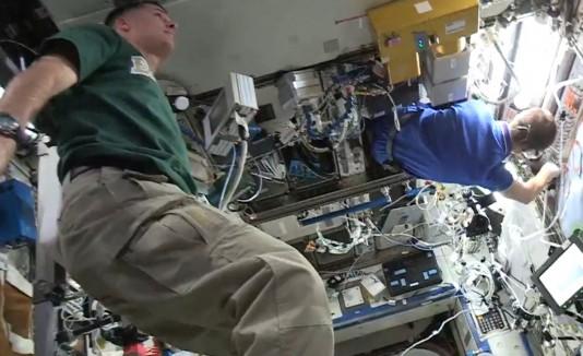 """El """"Mannequin Challenge"""" llega a la Estación Espacial"""