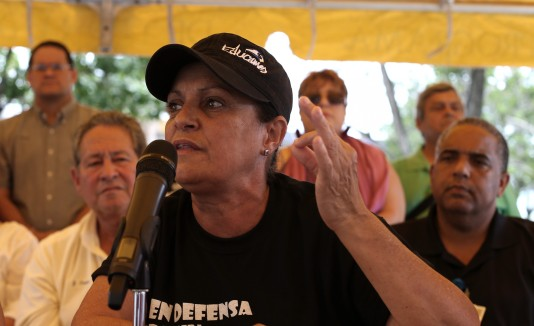 "Eva Ayala, presidenta de ""Educamos"""