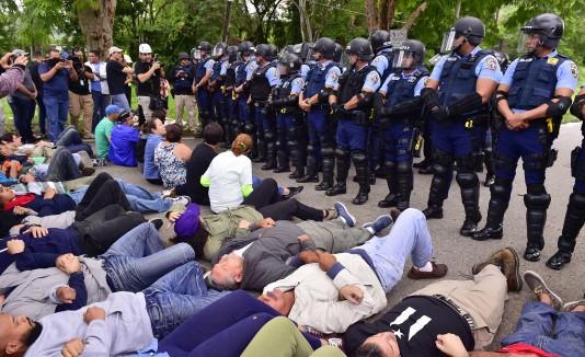 Policía en Peñuelas