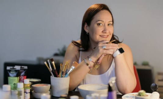 Rosannette Franceshi, propietaria de Dekokrete
