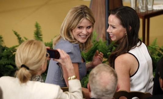 Jenna y Barbara Bush