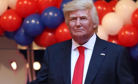 Figura de Trump en el Museo de Cera en Madrid