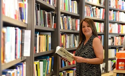 Maritza Santos, propietaria de MS Books