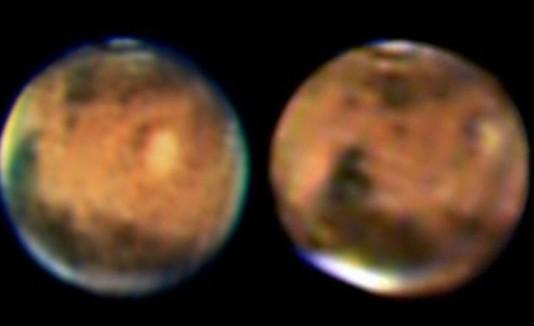 Cuatro caras de Marte
