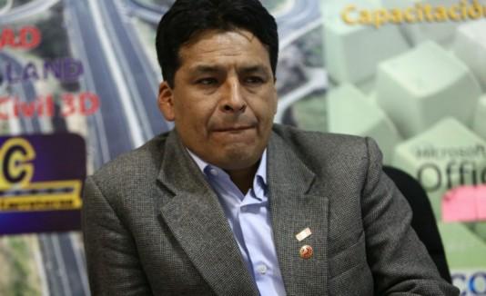 Edwin Licona, gobernador de Cuzco