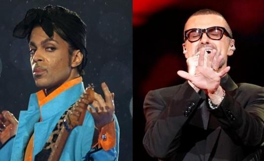 Prince y George Michael