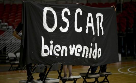 Bienvenida a Oscar López