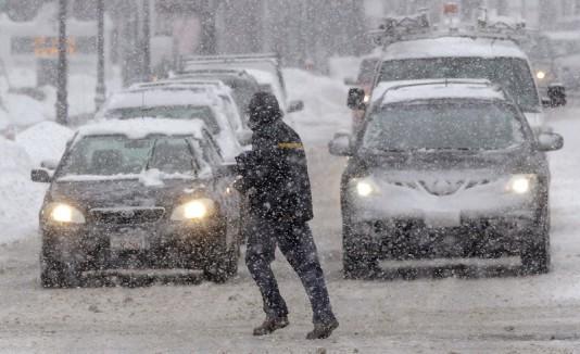 Tormenta invernal en EEUU