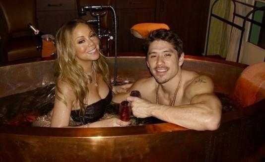 Mariah Carey y su nuevo novio