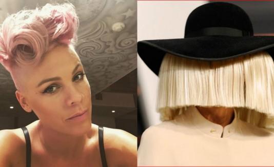 Montage de Pink y Sia