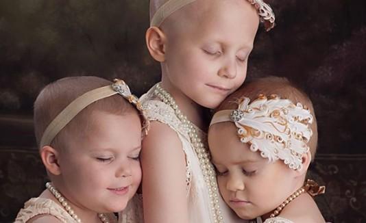Niñas con cáncer