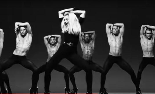Madonna voguing