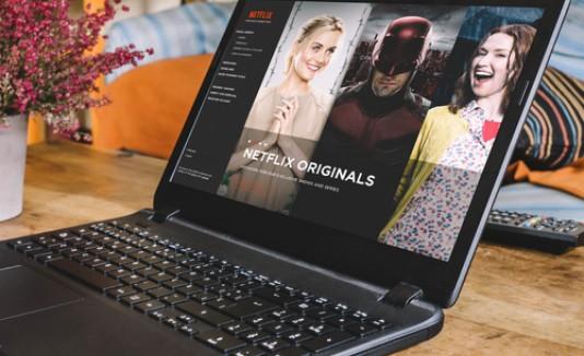 Netflix, viendo películas