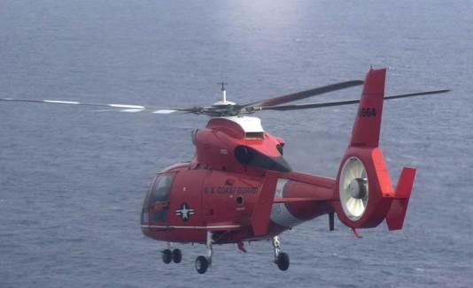 Helicóptero de la Guardia Costera