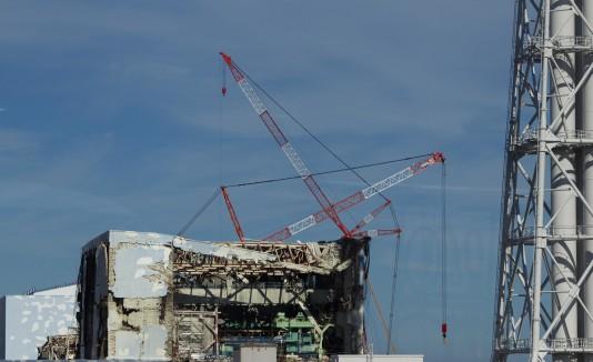 Planta nuclear en Fukushima