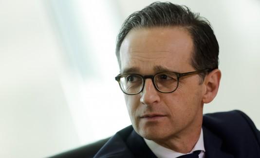 Ministro alemán de Justicia, Heiko Maas