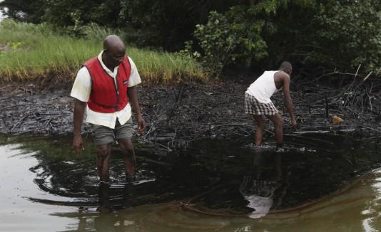 Derrame de crudo Shell en Nigeria