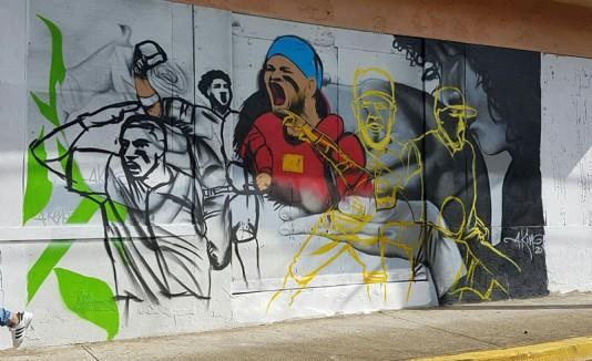 Mural en Vega Alta