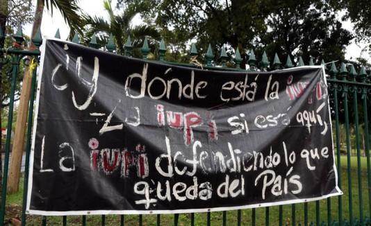 Paro de la UPR