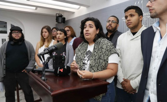 Estudiantes de la UPR en Fortaleza