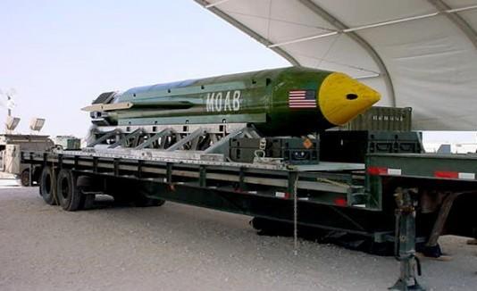 Bomba de EEUU a Afganistán