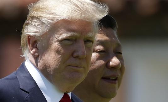 Trump y presidente chino