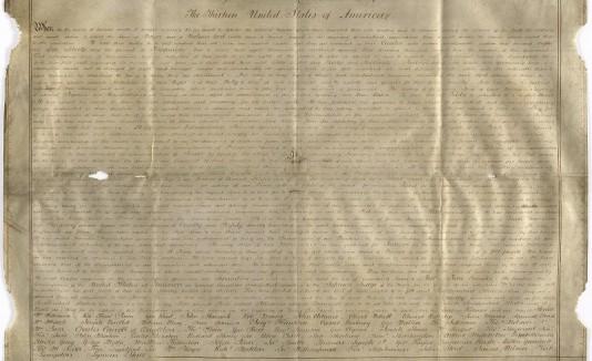 Declaración de Independencia EU
