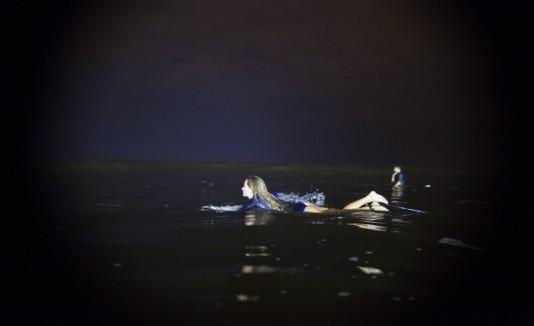 Surfeando de noche