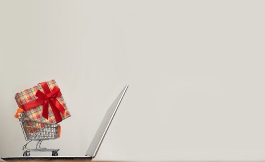 Compras online, regalo