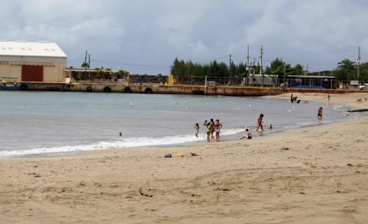 Playa Muelle de Arecibo