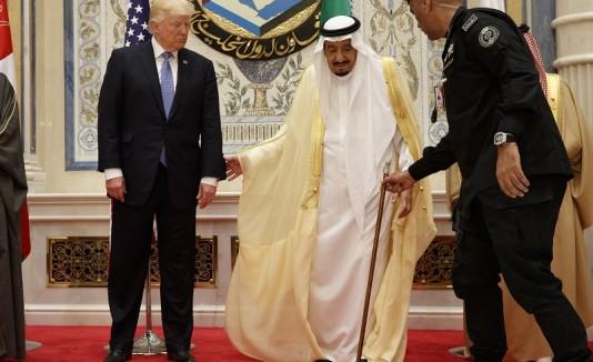 Trump en Arabia Saudí 2