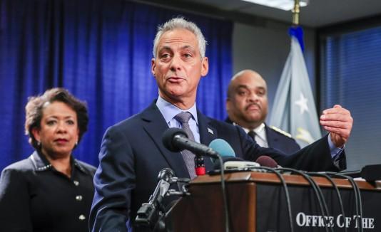 La campaña está a cargo del alcalde Rahm Emanuel.