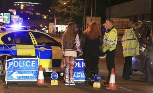 Ataque en Manchester Arena