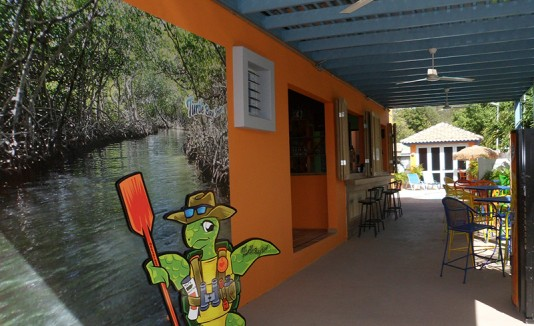 Parador Turtle Bay, en Lajas