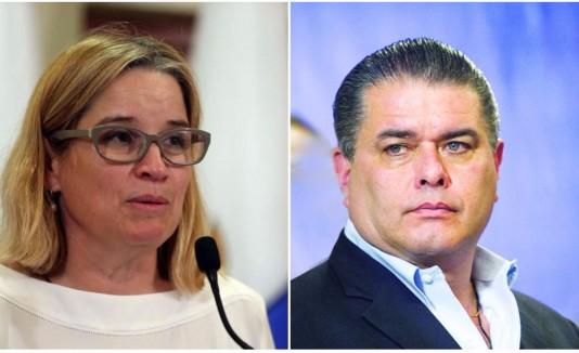 Carmen Yulín y Jorge Santini