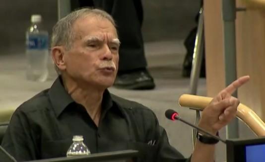 Oscar López habla ante la ONU
